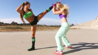 Kung Fu Girl vs Boxer | Martial Arts Action Scene