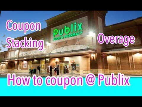 How to coupon at Publix - Publix coupon policy Couponing Crystle