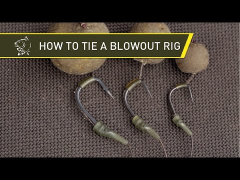 How to tie a Blow Out Tube Rig with Alan Blair