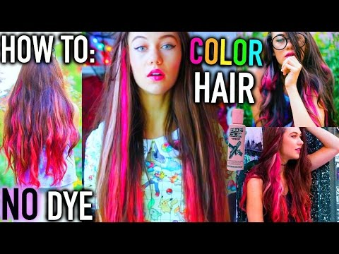 How to : Color Hair NO Bleaching or Dye!  | Jessiepaege