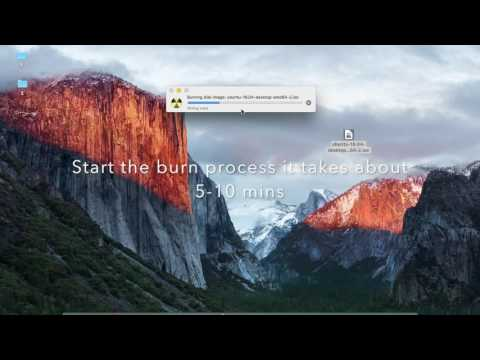 How to Burn Ubuntu 16 Disc Images in OS X El Capitan EASY!