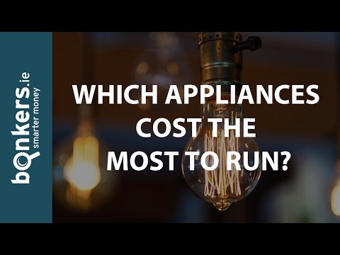 Bonkers.ie TV Ep.22: Which Appliances Cost The Most To Run?