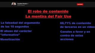 Candres Peredo y el abuso del Fair Use.