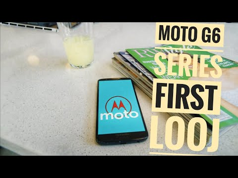 MOTO G6 PLUS FIRST LOOK BETTER THEN NOTE 5 PRO?