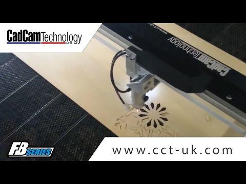 Laser cutting wood veneer