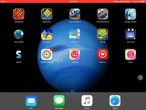 How To make a full screen video on your iPad iPhone and iPod!