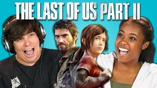 TEENS/ADULTS REACT TO LAST OF US II TRAILER