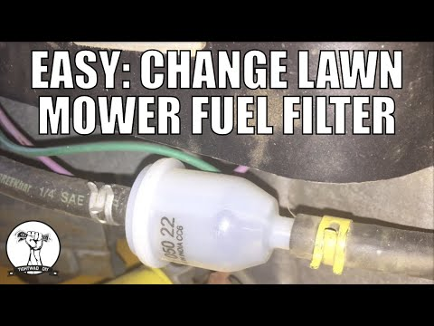 DIY: How to Change a Fuel Filter - Riding Mower