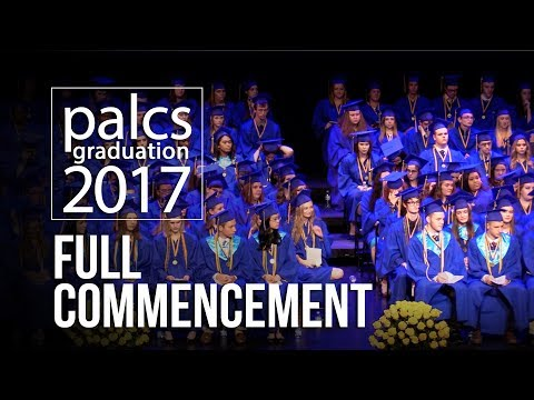 PALCS - Graduation Ceremony 2017 - Full commencement