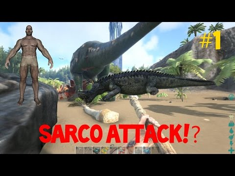 OFF TO A GREAT START!(not) [Ep.1] | The ARK | ARK:Survival Evolved