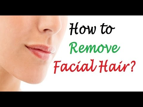 How to Permanently Remove Facial Hair?