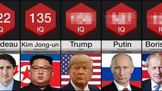 Smartest World Leaders Comparison