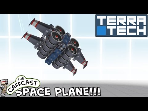 TerraTech Showcase - How To Make... A Self Righting Space Plane!!!