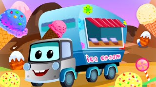 Ice Cream Truck Song | Zeek And Friends | Car Cartoon Videos for Children from Kids Tv Channel