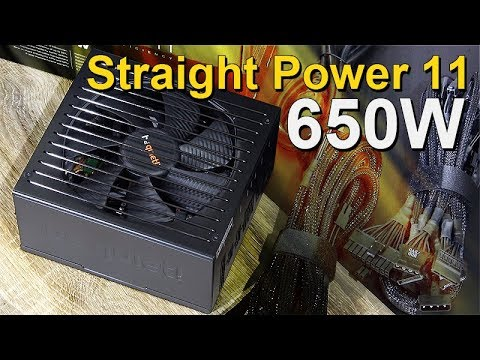 The New GOLD Standard! -- be quiet! Straight Power 11 650W