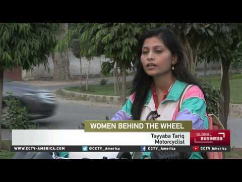 Pakistan's female drivers gain confidence & visibility