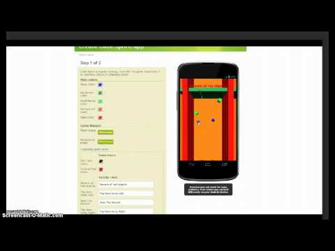 Make Cube Sprint game app EASY and FAST - by AppsGeyser