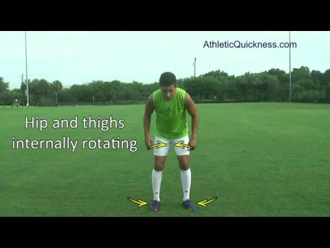 Internal and External Hip Rotation Muscles - Faster Soccer Speed - Change of Direction