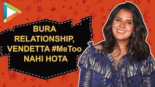 "Richa Chaddha on #MeToo: ""Trial by MEDIA nahi, Trial by LAW hona chahiye"""