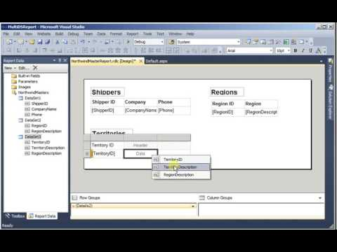RDLC: Multiple reports on a single page (C# code)