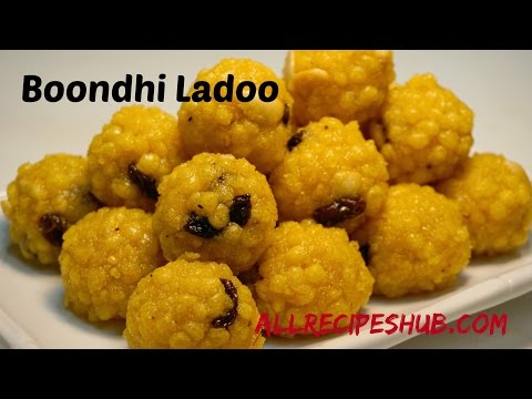 Boondi ladoo Recipe / Quick and Easy ladoo recipe - All Recipes Hub