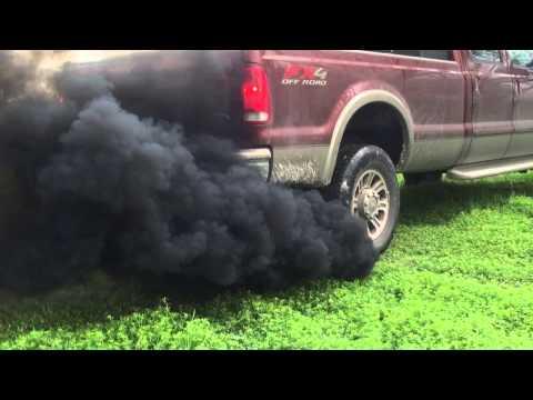 6.0 Powerstroke lope and smoke
