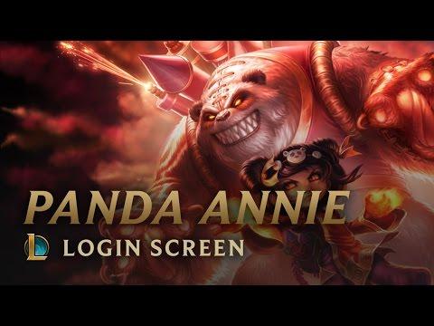 Panda Annie | Login Screen - League of Legends