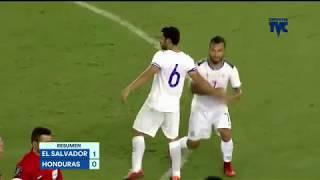 Honduras [0-1] El Salvador --- Resumen Completo y goles
