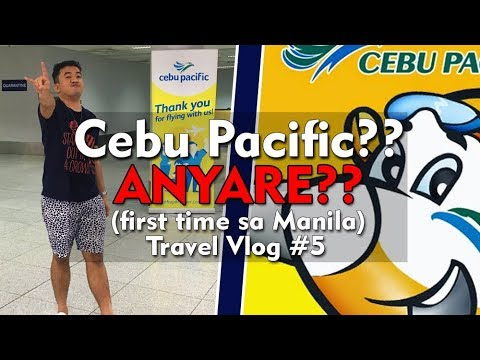 Really Cebu Pacific?? (first time in Manila) - Travel Vlog#5