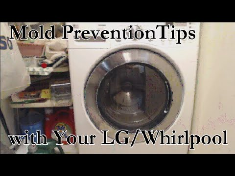 Four Tips to Help With Mold and Mildew in Your Front Load Clothes Washer