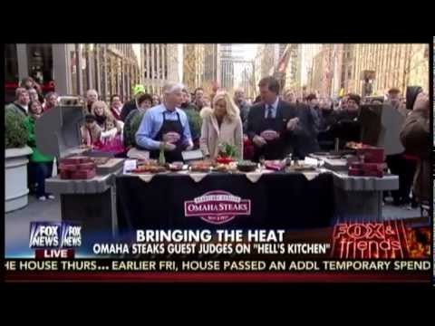 Omaha Steaks on Fox & Friends Weekend 12.13.14