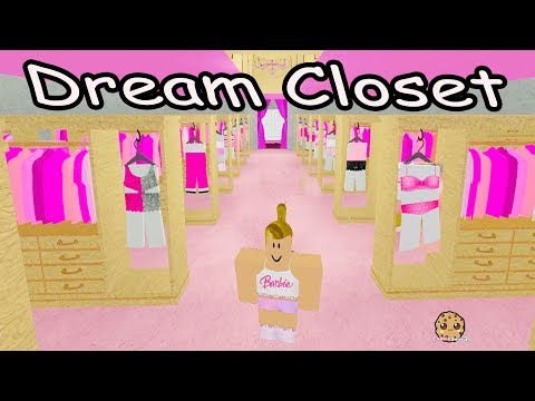 Dress Up In Barbies Giant Clothing Closet -  Roblox Life In The Dreamhouse Mansion + Fashion Frenzy
