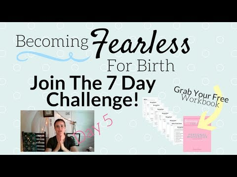 [ Challenge ] Becoming Fearless For Birth Day 5