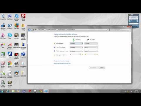How To Adjust Screen Brightness Windows 7 Tutorial