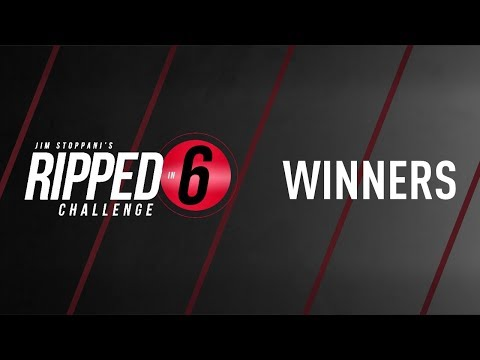 Ripped in 6 Challenge: Winners Announcement