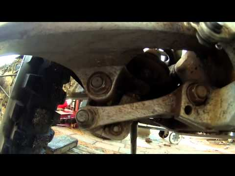 How To Adjust Rear Suspension On Your Yamaha WR250R- NJBIKELIFE