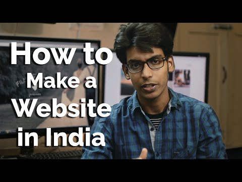 How to Create a Website, QUICK & EASY in India - 7 min Guide