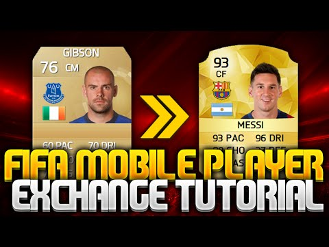FIFA 16(MOBILE)- PLAYER EXCHANGE TUTORIAL!!!!!!!!