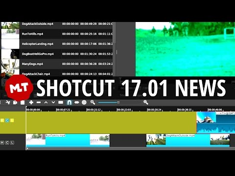 Shotcut 17.01 Release News | Timeline Clip Filter Copy-Paste Fixes and More