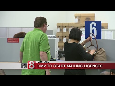 No more handouts: Connecticut to mail driver licenses