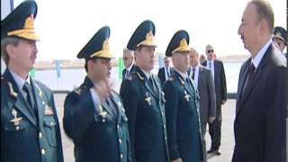 Prezident İlham Əliyev Dövlət Sərhəd Xidmətinin Sahil Mühafizəsinin yeni gəmi inşası zavodunun açılışında iştirak edib
