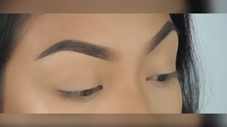 Eyebrow Tutorial | Quick & Easy | loveemanda