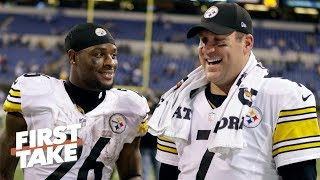 Le'Veon Bell's criticism of Ben Roethlisberger is completely unnecessary - Stephen A.   First Take