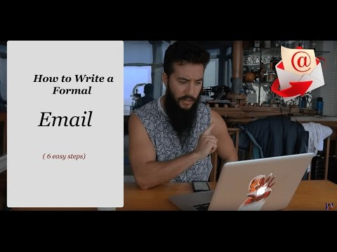 How to Write a Formal Email (in 6 easy steps)