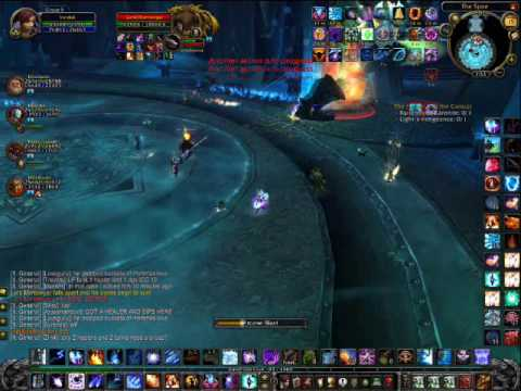 PUBLIC TEST REALM PRE RELEASE World of Warcraft Icecrown Citadel Lord Marrowgar First Boss
