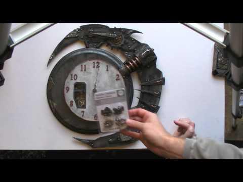 Tim Holtz Grunge Steampunk Clock