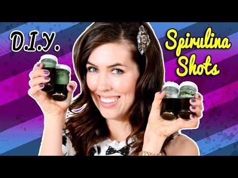 D.I.Y. Spirulina Shots!