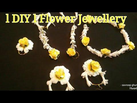 DIY| FLOWER JEWELLERY