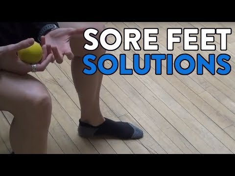 Training for Hockey - sore feet solution