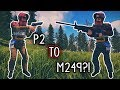 P250 TO THE LEGENDARY M249?! (Rust) (1/3)